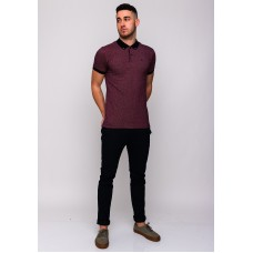 XV Kings By Tommy Bowe Cantabrigian Polo Shirt, Wine