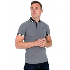 XV Kings by Tommy Bowe Cinderford Polo Shirt, Ice