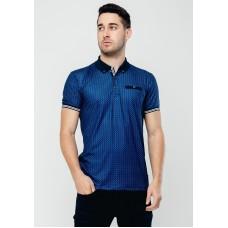 XV Kings by Tommy Bowe Armidale Polo Shirt, Blue