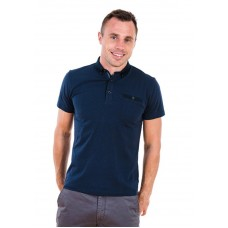 XV Kings by Tommy Bowe Clemson Polo Shirt, Navy Dot