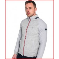Tommy Bowe Basel Bomber Jacket Steel Grey