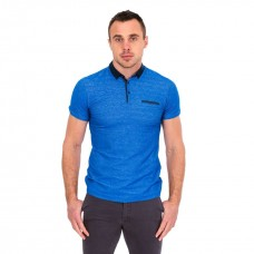 Tommy Bowe Cudal Sky Weave Polo