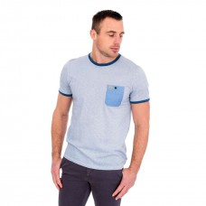 Tommy Bowe Ecole Tee Washed Denim