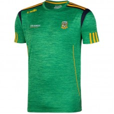 KIDS Meath GAA Solar 3S T-Shirt (Mel Marine/Bottle/Amber)