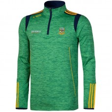 Meath GAA Solar 3S Brushed Half Zip Top (Mel Bottle/Marine/Amber)