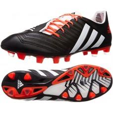Adidas Predator Incurza TRX FG Rugby Football Boots - Black/White/Infra Red