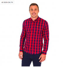 Tommy Bowe Flint Shirt- Fire Patch
