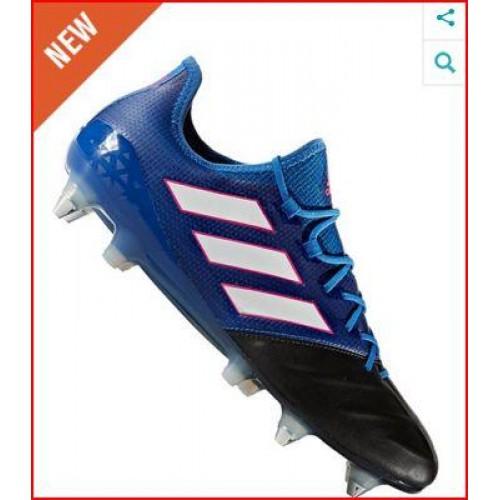 wholesale dealer cbd79 a380b Adidas Ace 17.1 SG Core Black/Blue/White