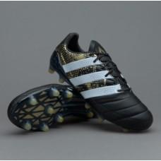 Adidas ACE 16.1 FG- Black/White/Gold Metallic