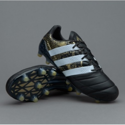 huge selection of 0f8e2 53c79 Adidas ACE 16.1 FG- Black/White/Gold Metallic