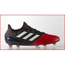 Adidas ACE 17.1 LEATHER FG Black/Red/White